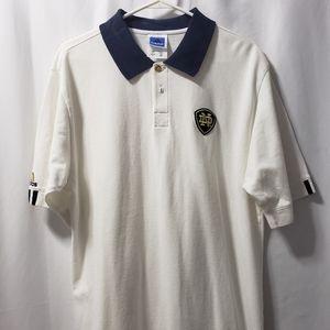 Notre Dame Polo Vintage Adidas NCAA Large